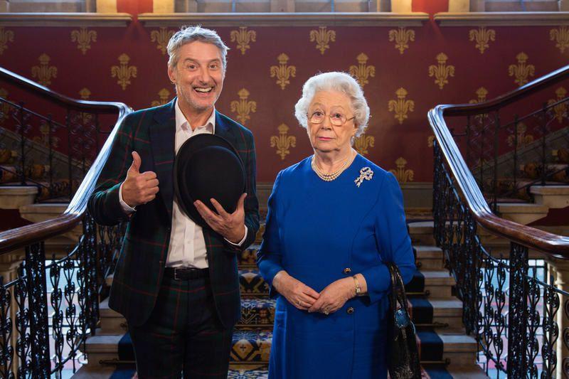 La Gaule save The Queen ce 27 mars sur Canal+, avec Antoine de Caunes.