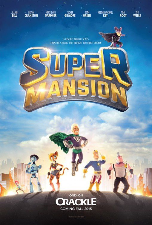 La série d'animation Super Mansion, inédite en France, arrive le 17 avril sur MCM.