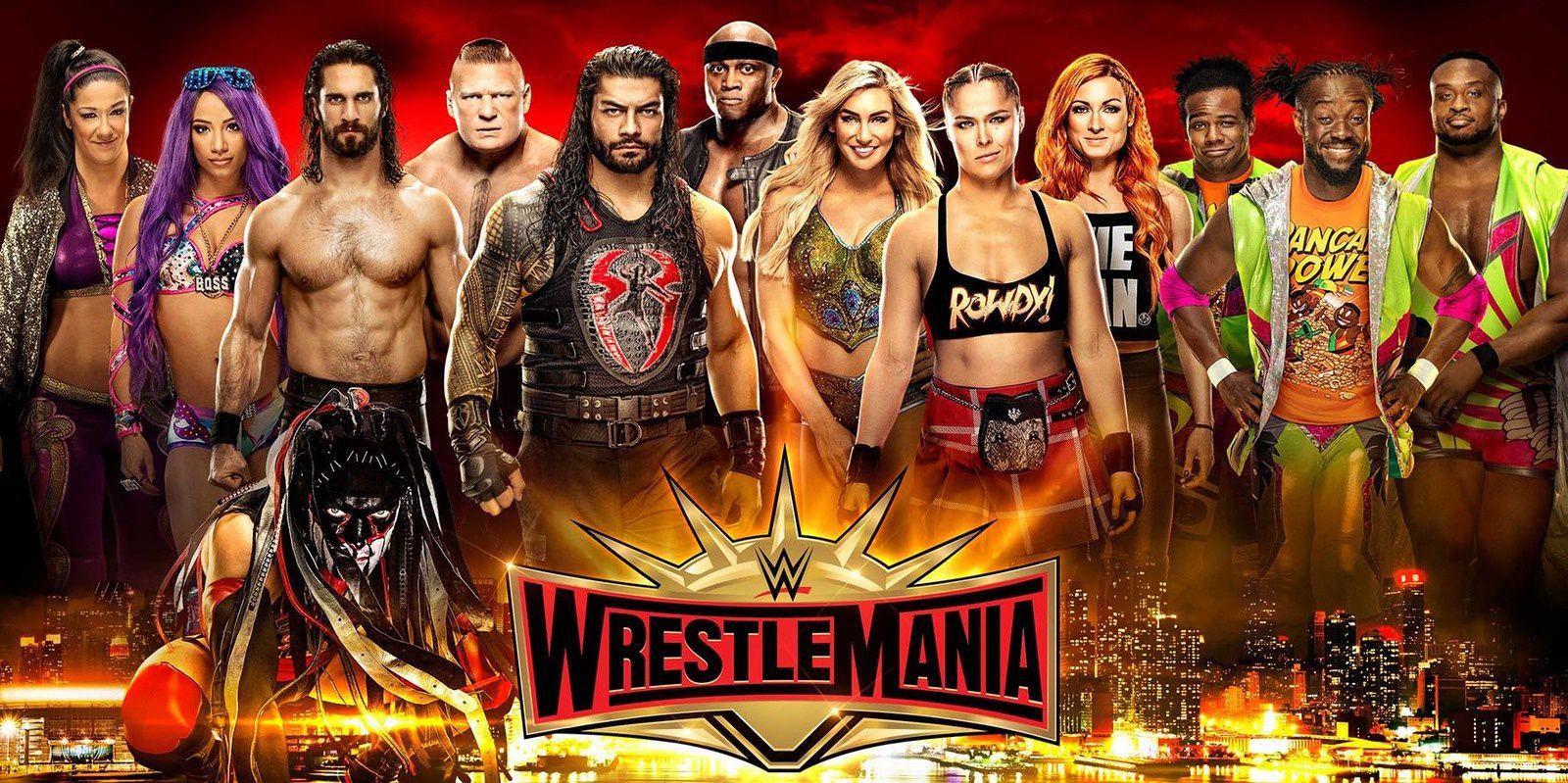 Diffusion du show de catch Wrestlemania, en quasi direct cette nuit de dimanche à lundi.
