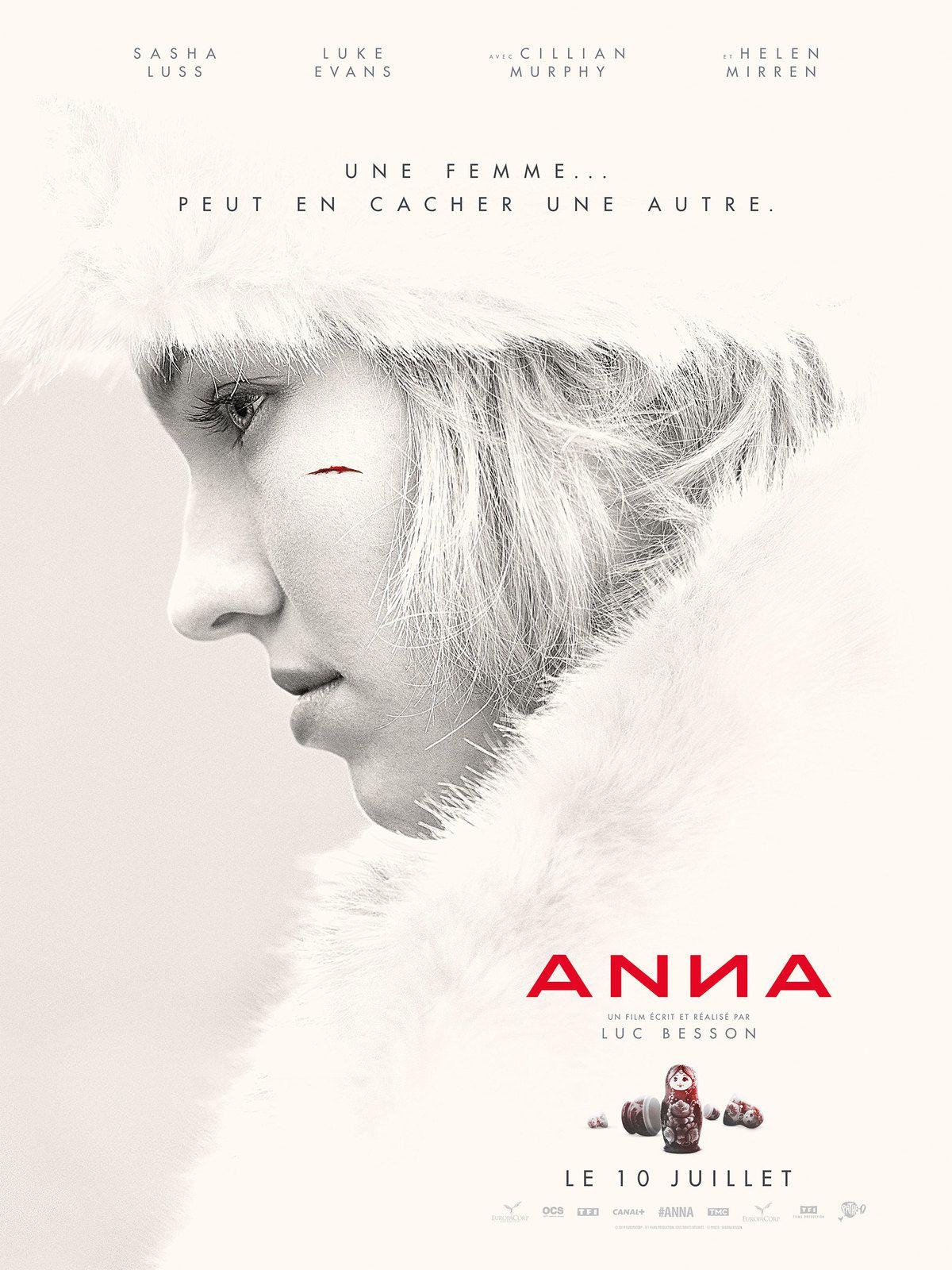 Nouvelle bande-annonce d'Anna, le nouveau film de Luc Besson.