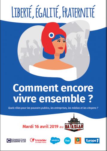 Mardi au Bataclan, Europe 1 propose un forum autour des thématiques Liberté, Egalité, Fraternité.