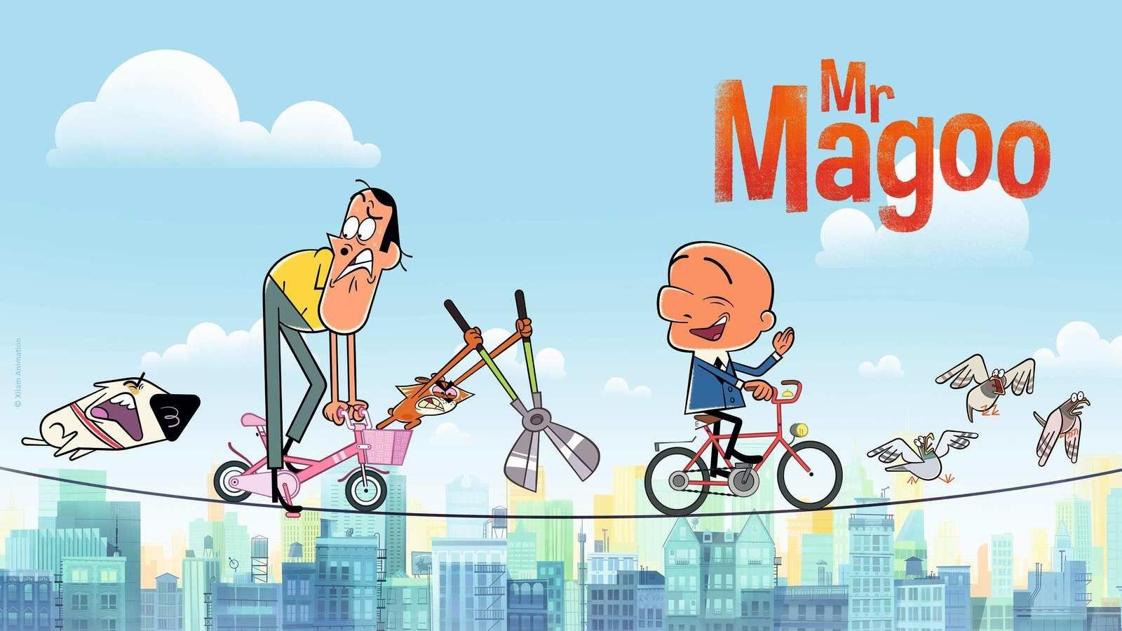 La nouvelle version de la série animée Mr Magoo dès le 4 mai sur France 4.