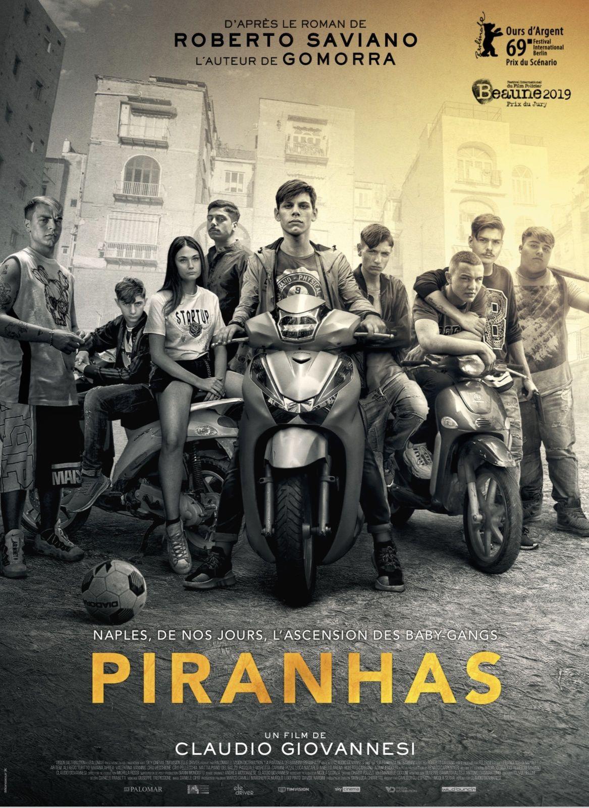 Dans les salles dès ce mercredi, le film Piranhas (d'après le roman de Roberto Saviano).