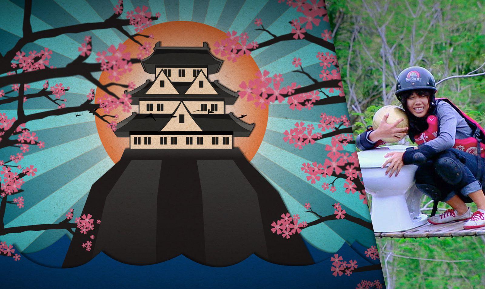 Takeshi's Castle, version thaïlandaise du jeu, dès ce lundi sur Comedy Central.