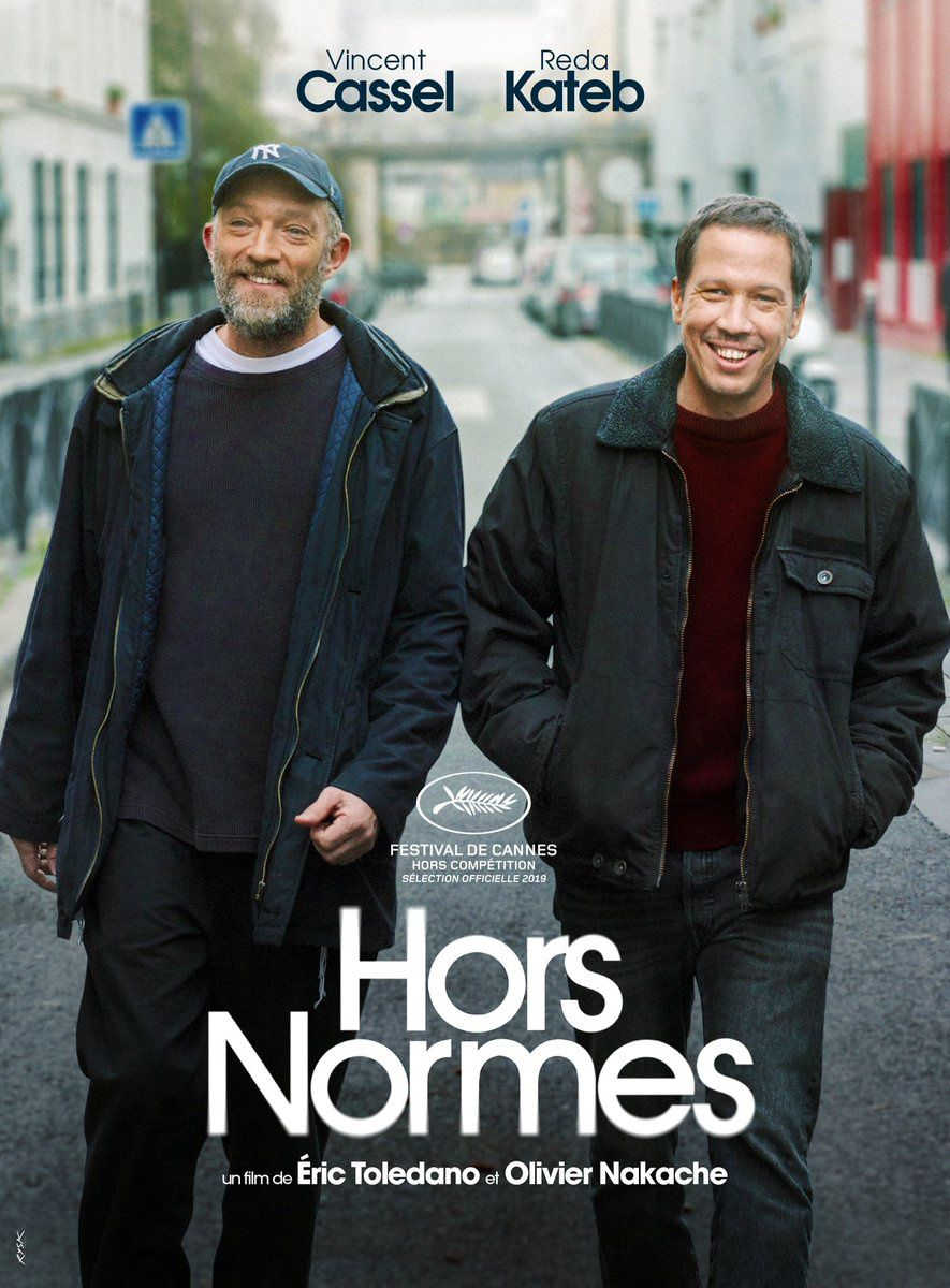 """Hors normes, d'Eric Toledano et Olivier Nakache, en """"Dernière Séance"""" au Festival de Cannes."""