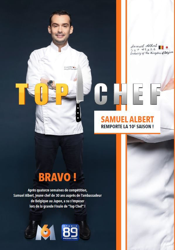 Finale de Top Chef mercredi opposant Guillaume et Samuel : le vainqueur est...