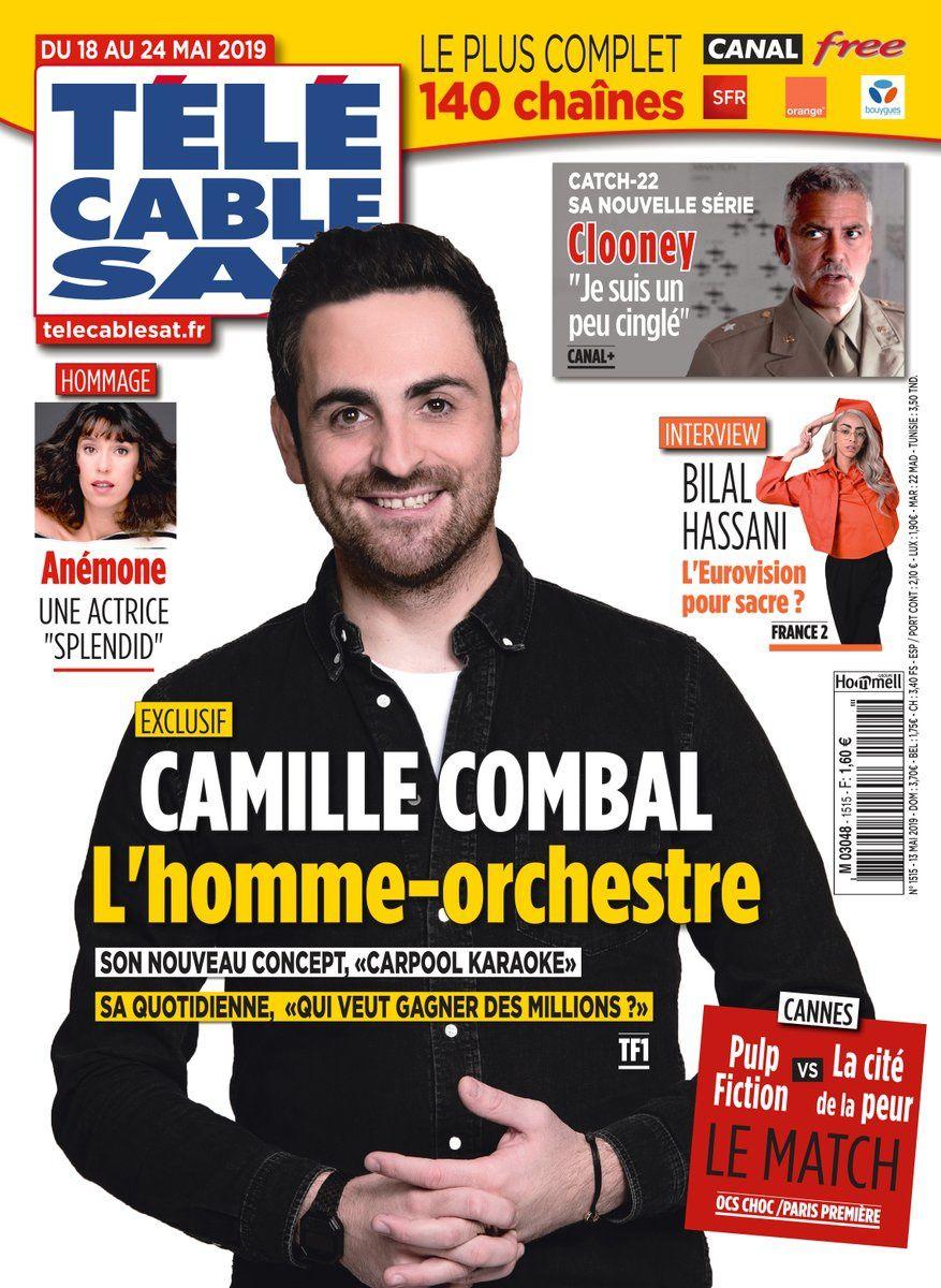 La UNE des hebdos TV ce lundi : Camille Combal, Amel Bent, Bilal Hassani…