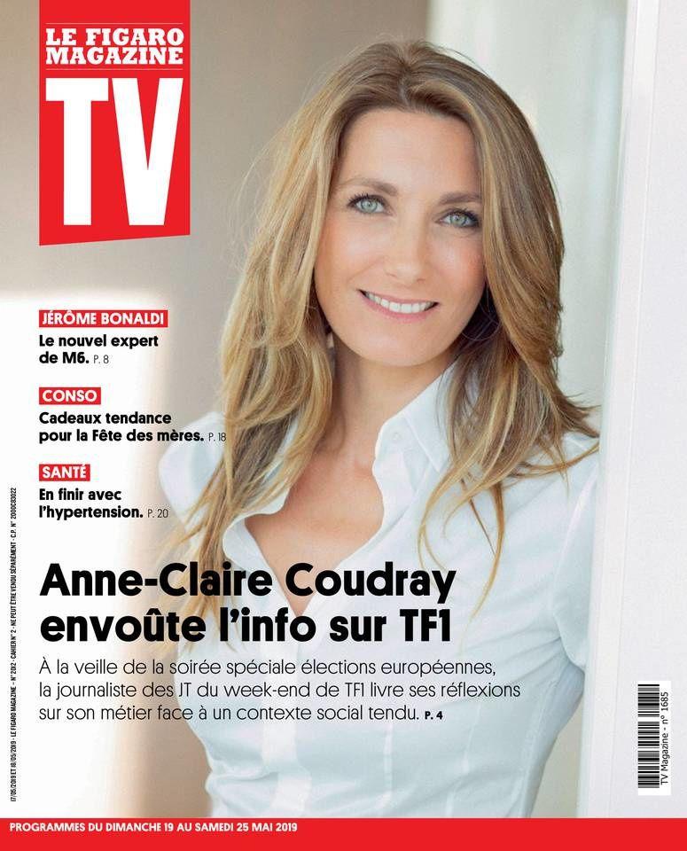 La UNE des hebdos TV : Ingrid Chauvin, Evelyne Dhéliat, Emma Smet...