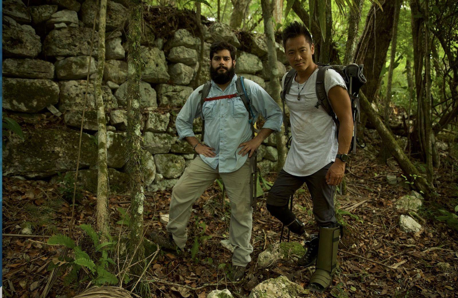 """Du 9 au 30 juin, National Geographic diffusera la série-documentaire inédite """"Les trésors perdus des mayas. """""""