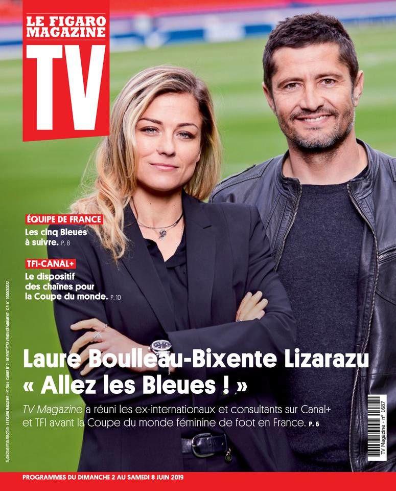 La UNE des hebdos TV ce lundi : Nagui, Michèle Bernier, Fabienne Carat...