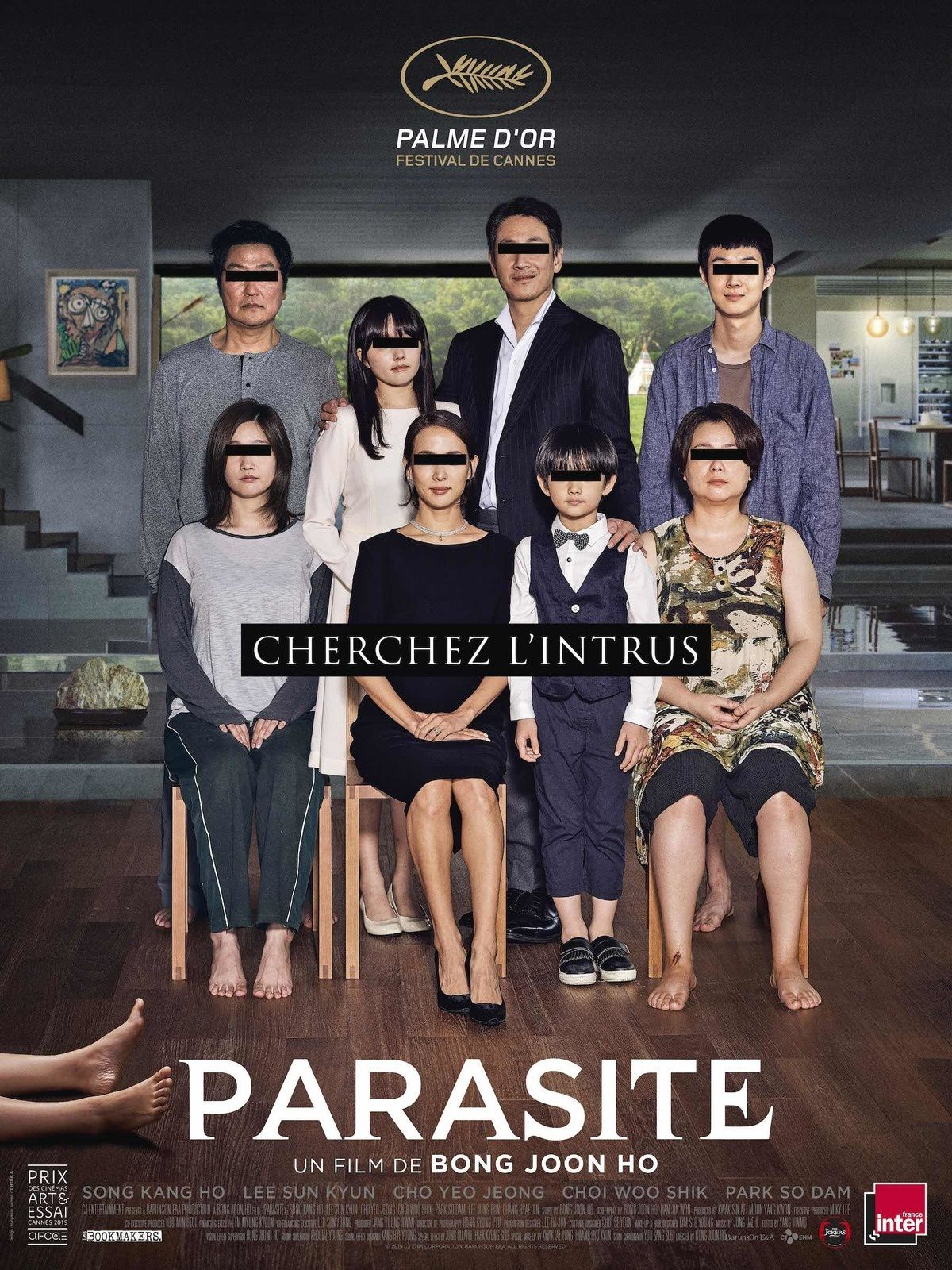 À voir dès ce mercredi au cinéma : Parasite, Palme d'Or à Cannes.