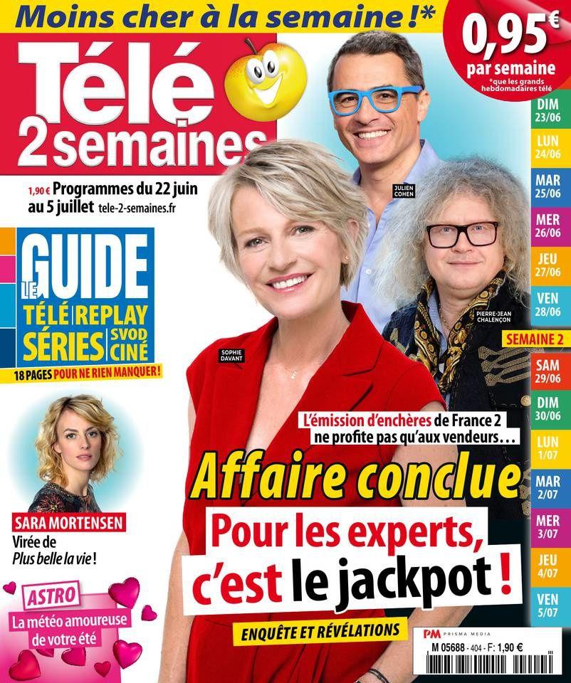 La Une des hebdos TV ce lundi : Anne-Elisabeth Lemoine, Karine Ferri, Fort Boyard…
