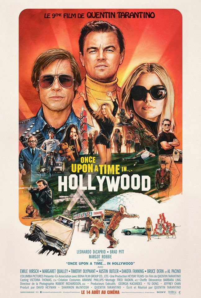 Nouvelle bande-annonce de Once Upon a Time in Hollywood (VOST).