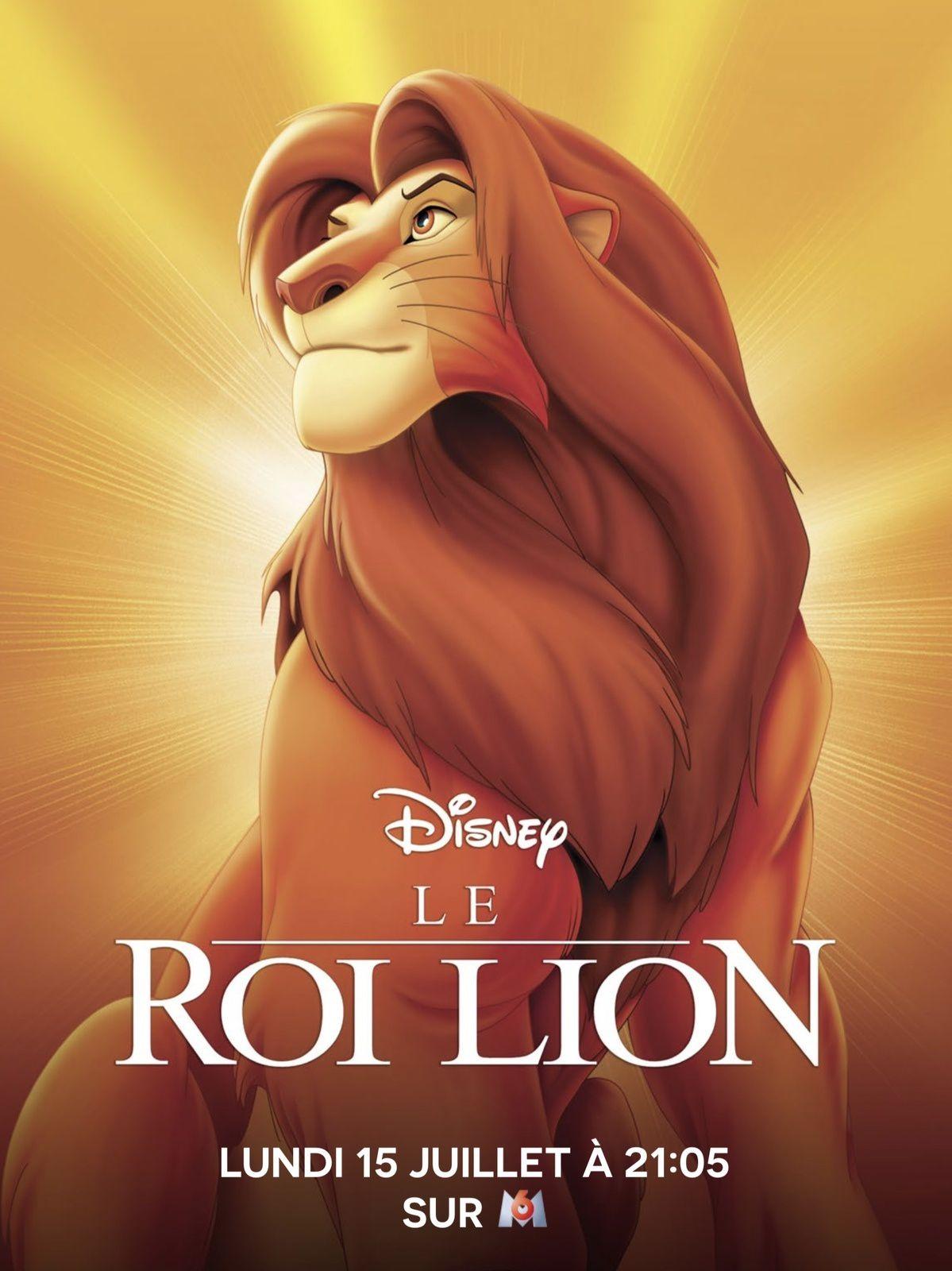 Inédit en clair, Le Roi Lion sera diffusé ce lundi soir sur M6.