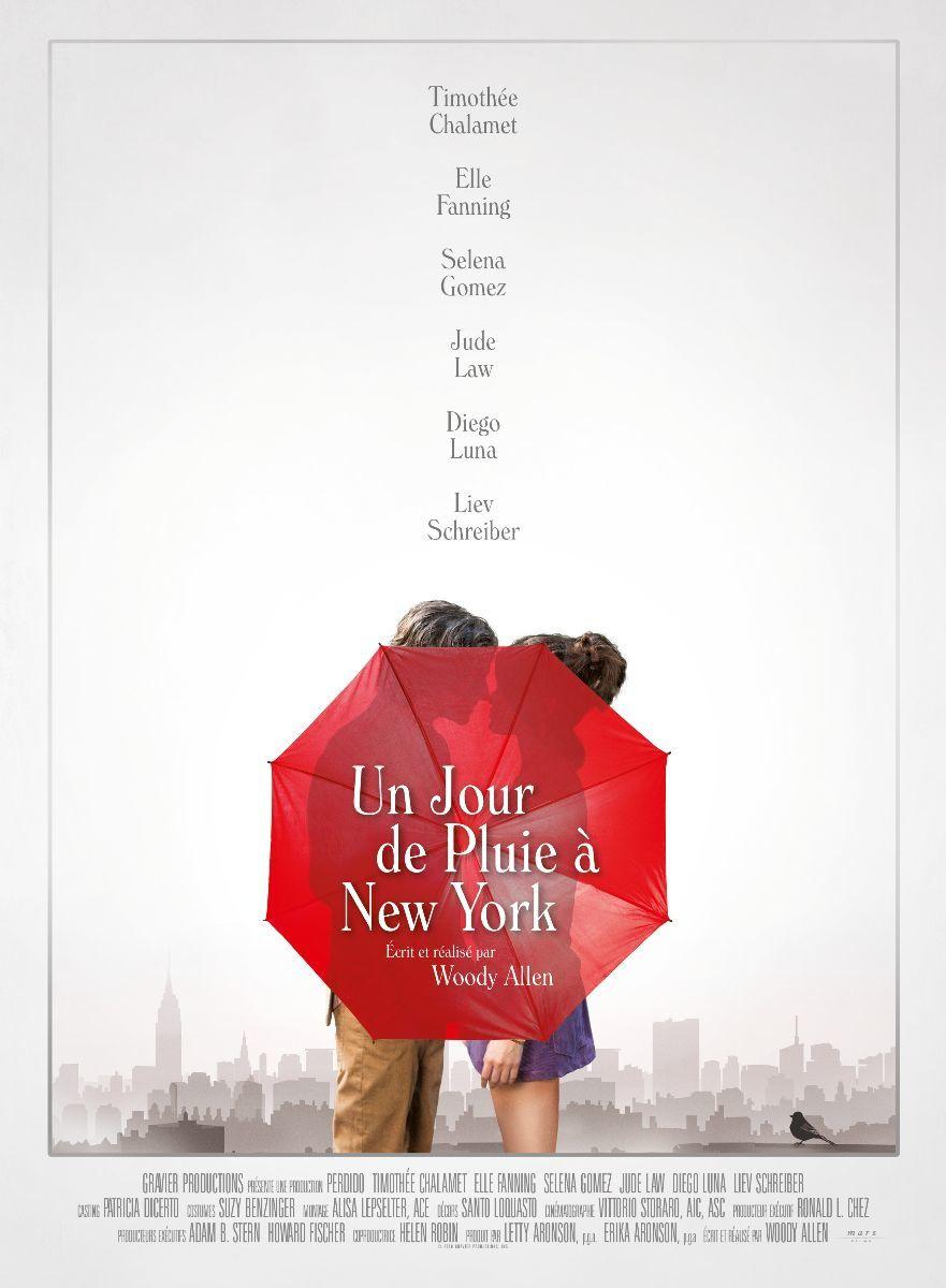 La bande annonce en version française d'Un jour de pluie à New York, nouveau film de Woody Allen.