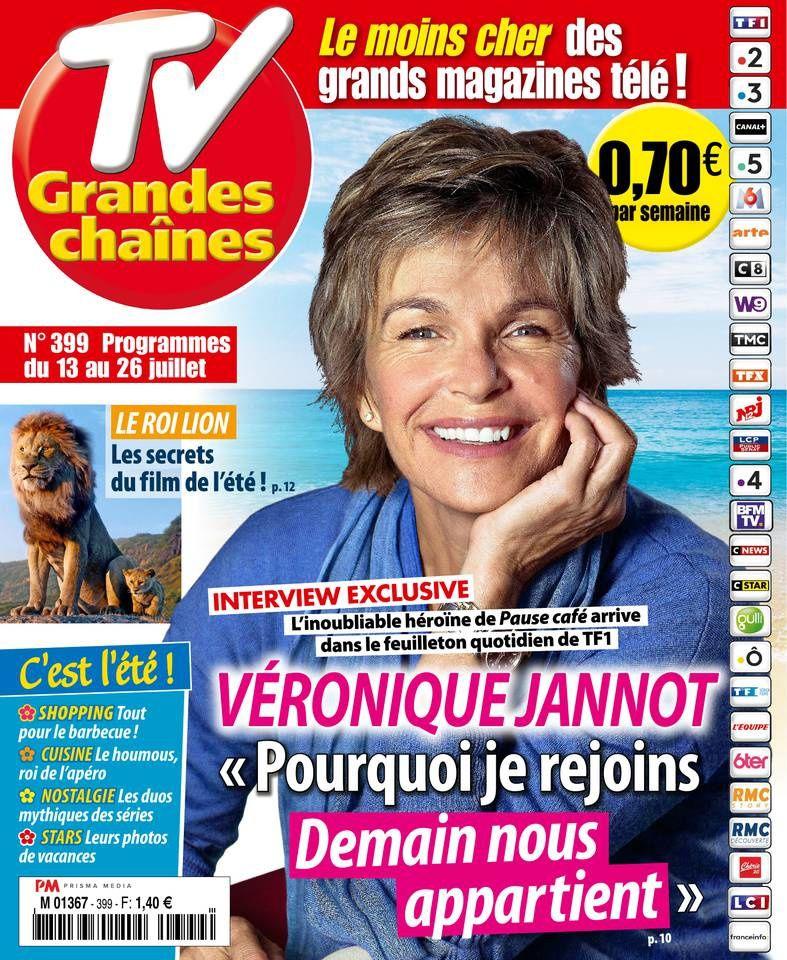 La Une des hebdomadaires TV ce lundi : Dechavanne, Chazal, Cymes...