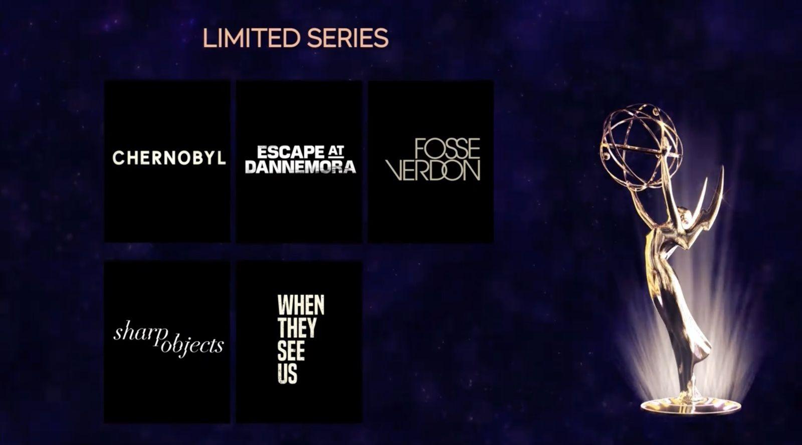 Palmarès des Emmy Awards 2019 dévoilé cette nuit : GOT et Chernobyl parmi les gros favoris.