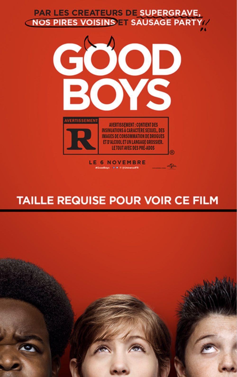 Nouvelle bande-annonce de la comédie Good Boys.