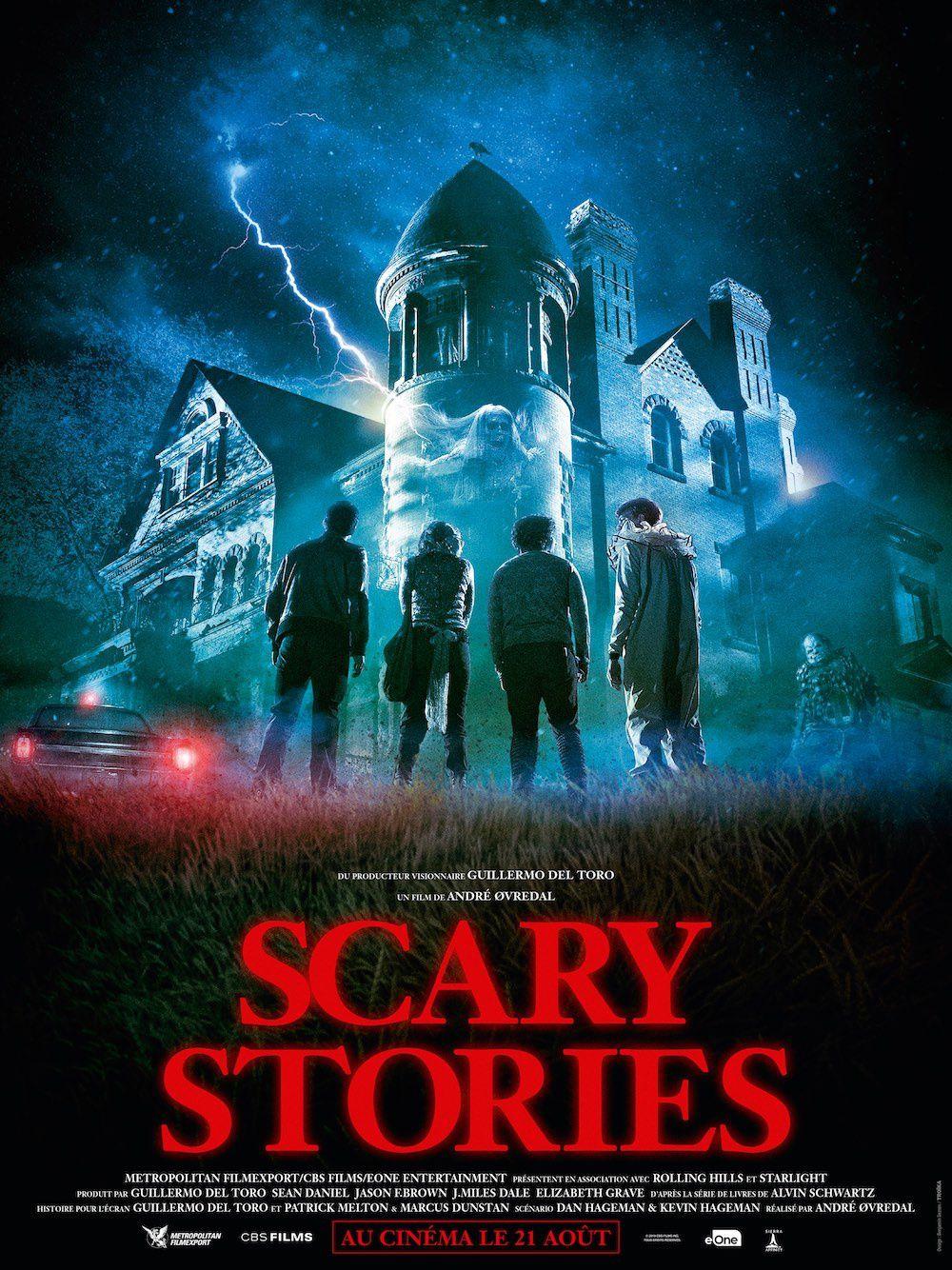 Nouvelle bande-annonce de Scary Stories, un film  produit par Guillermo del Toro.