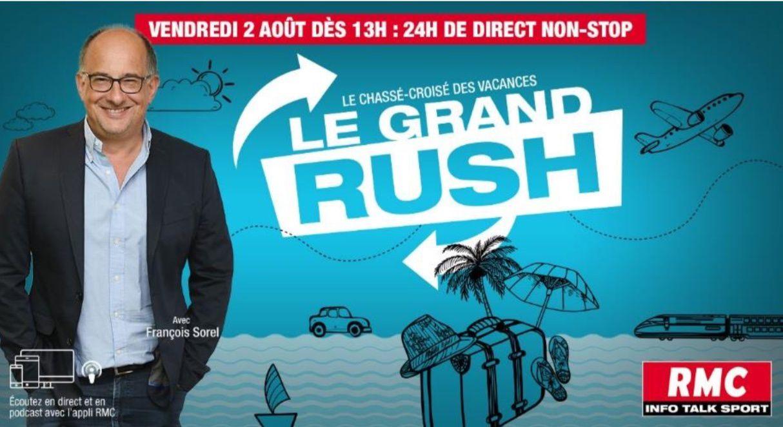 Nouvelle édition du Grand Rush ce vendredi et ce samedi sur RMC.