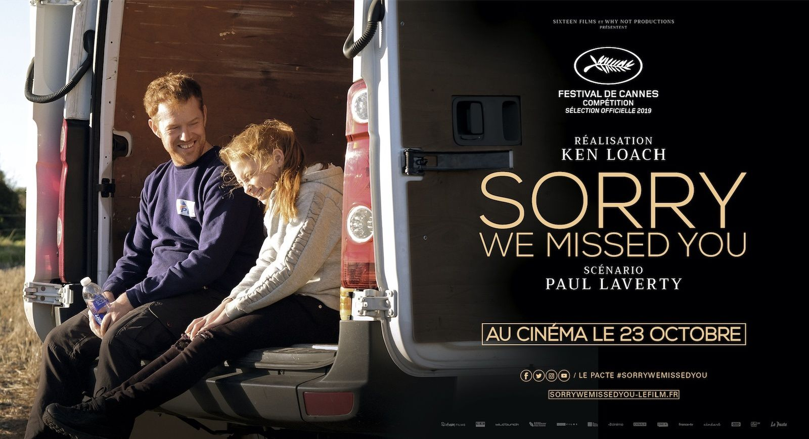 Bande-annonce du film Sorry we missed you, de Ken Loach.