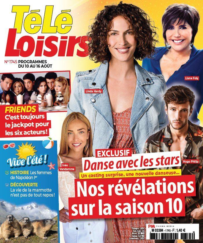 La UNE des hebdos TV ce lundi : Laure Boulleau, PBLV, Michèle Laroque…