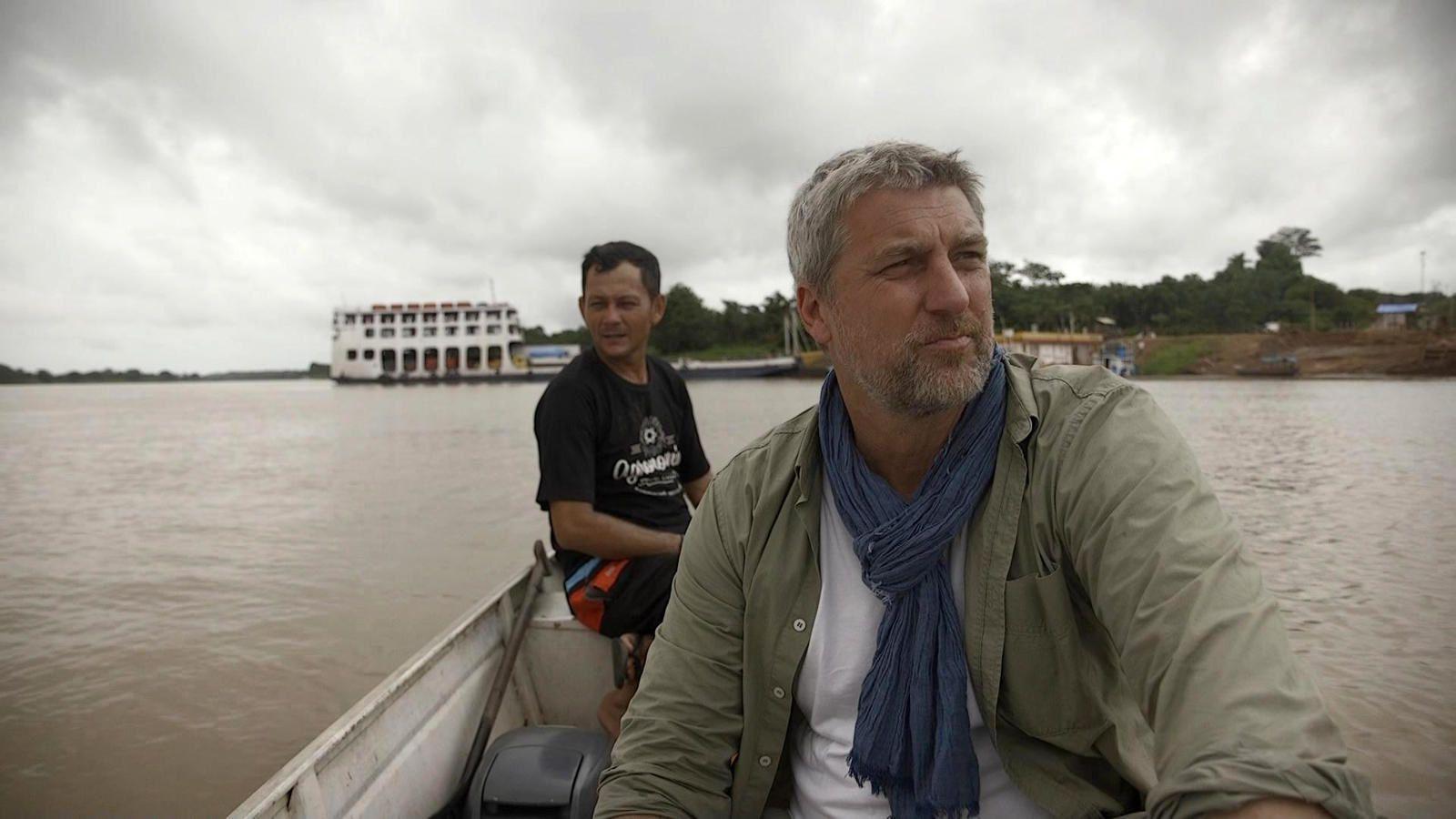 Collection Au bout c'est la mer avec François Pécheux : l'Amazone ce mardi soir.