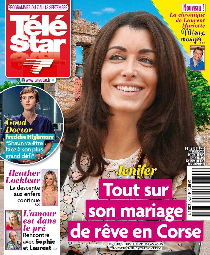 La UNE des hebdos TV : Jenifer, Affaire conclue, Xavier de Moulins…