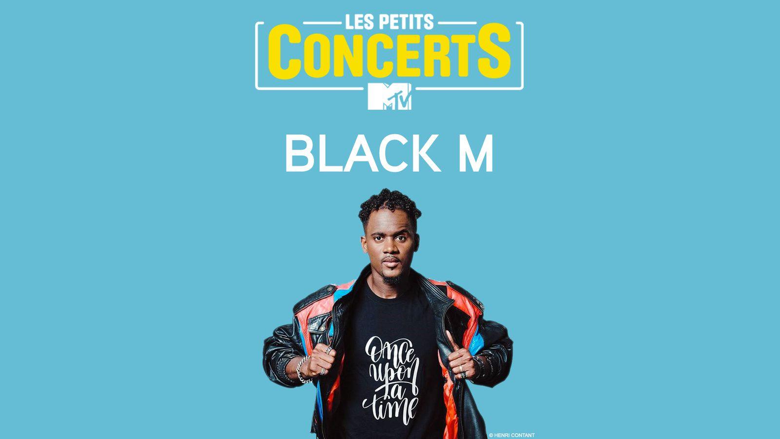 Concert inédit de Black M les 11 et 13 octobre sur MTV.