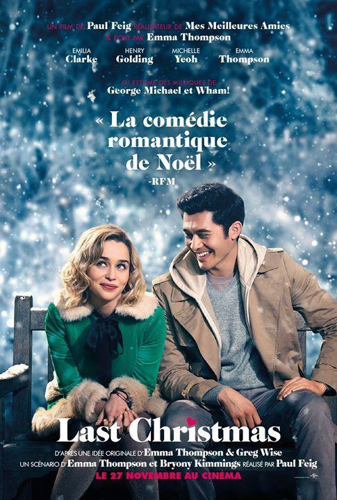 La longue bande-annonce de la comédie romantique Last Christmas.
