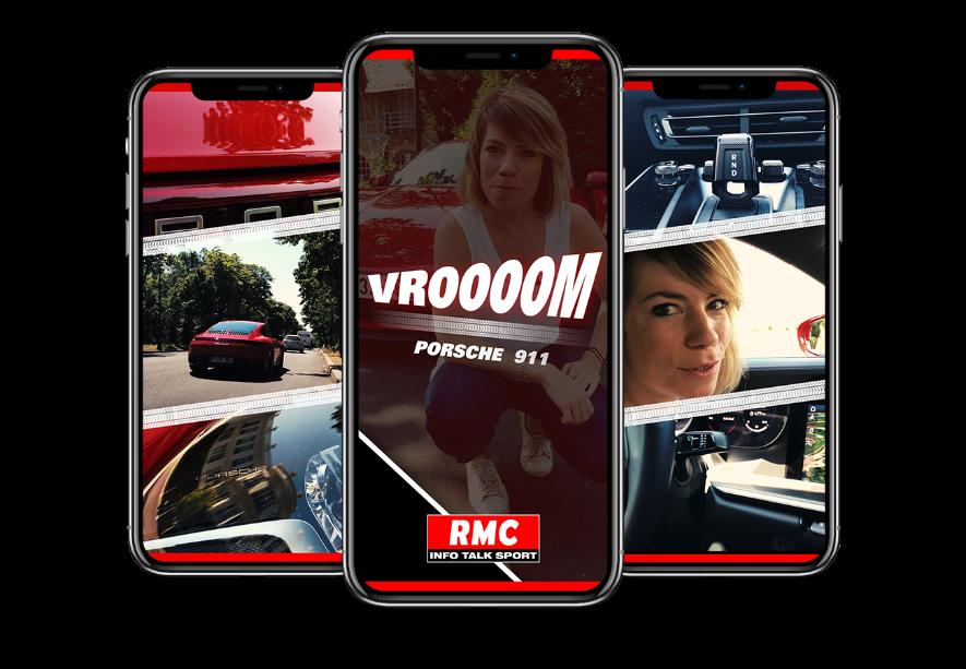 RMC lance son premier show 100% auto sur Snapchat Discover.