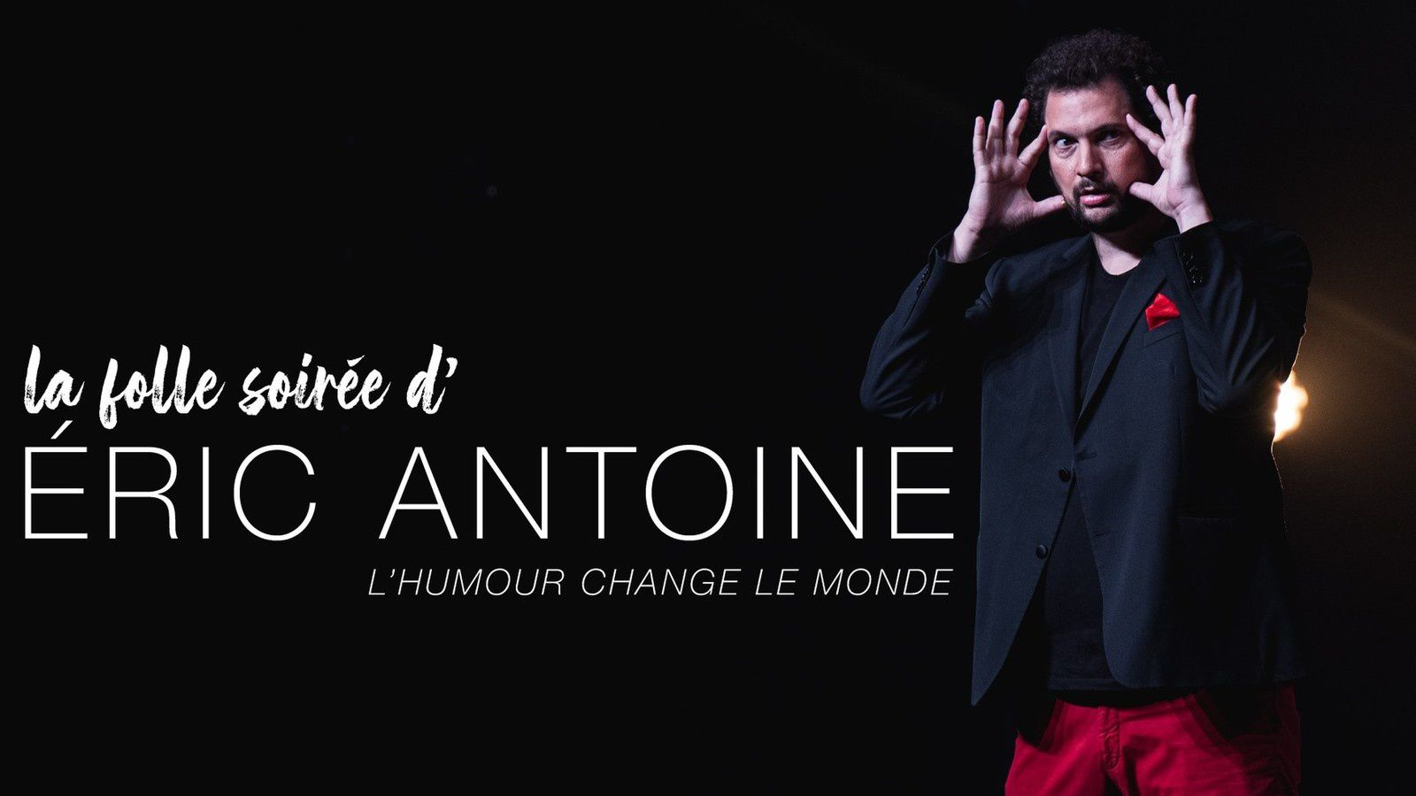 Gala La folle soirée d'Éric Antoine, ce samedi soir sur Paris Première.