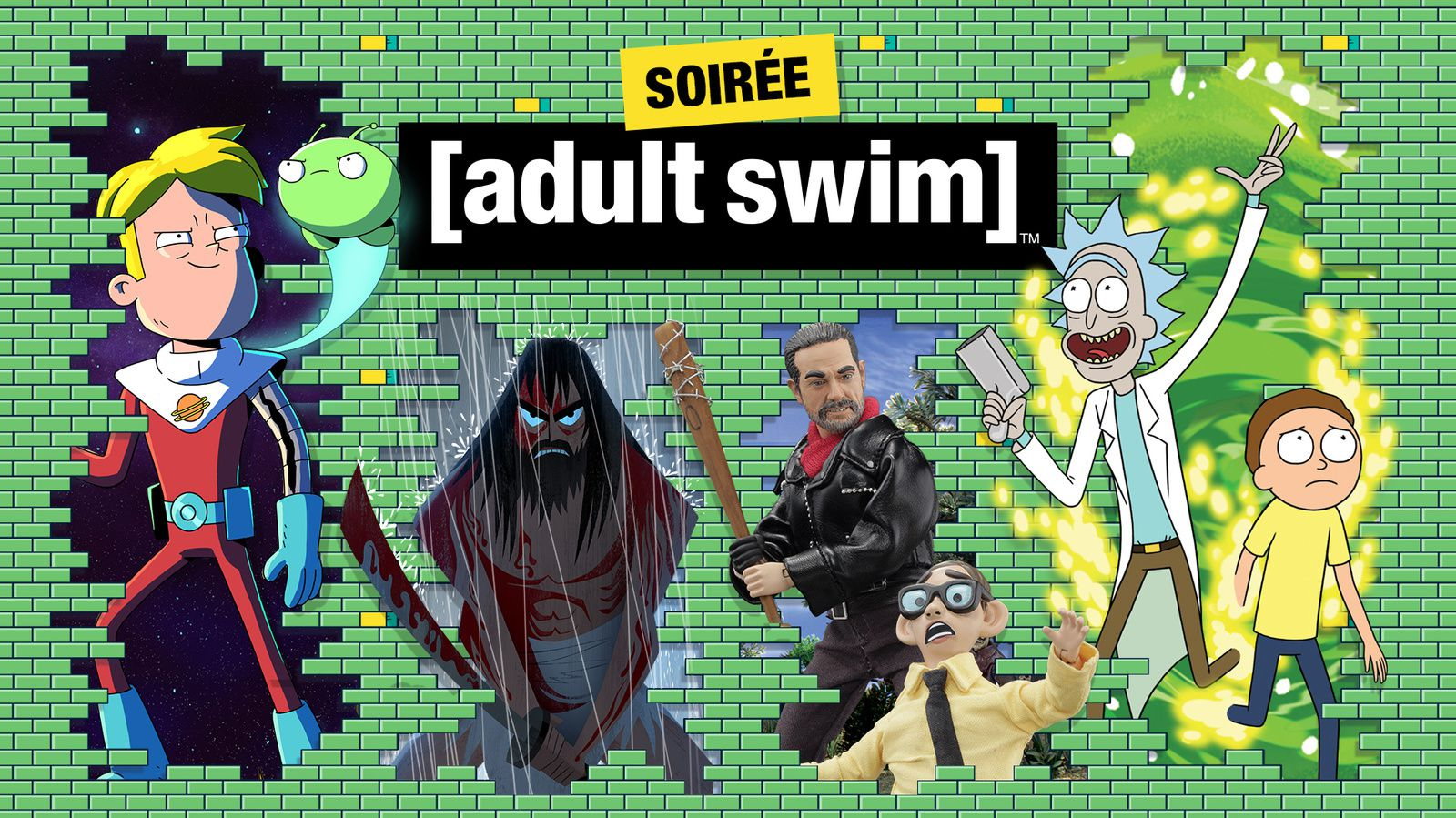 Le dispositif de Warner TV et Adult Swim au Comic Con Paris.