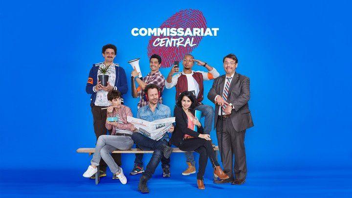 Saison inédite de la comédie Commissariat Central dès le dimanche 6 octobre sur W9.
