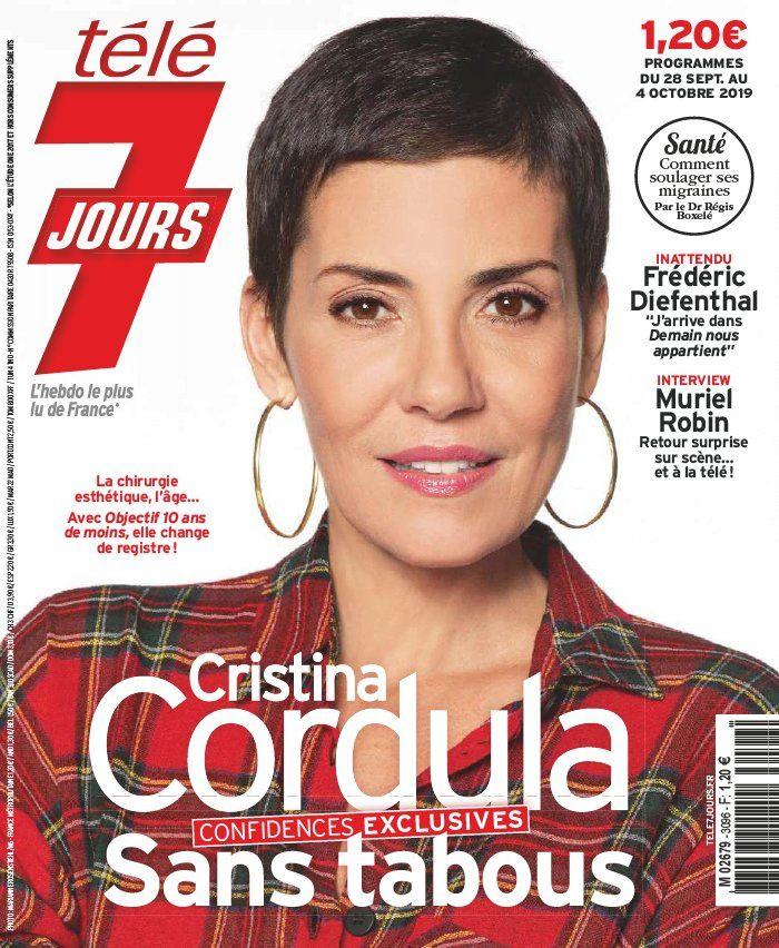 La UNE des hebdos TV : Flavie Flament, Cristina Cordula, Sylvie Vartan…