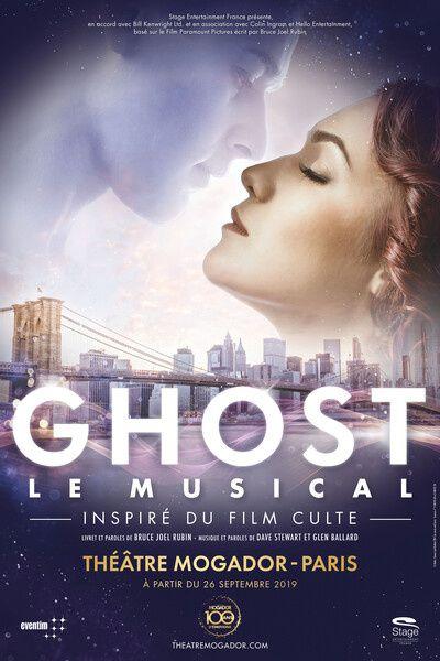L'adaptation du film culte Ghost à l'affiche de Mogador dès cette semaine.
