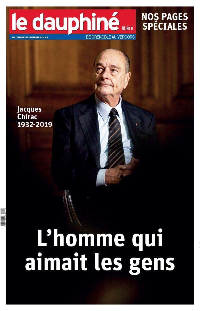 La UNE de 20 quotidiens nationaux et régionaux ce vendredi, au lendemain du décès de Jacques Chirac.