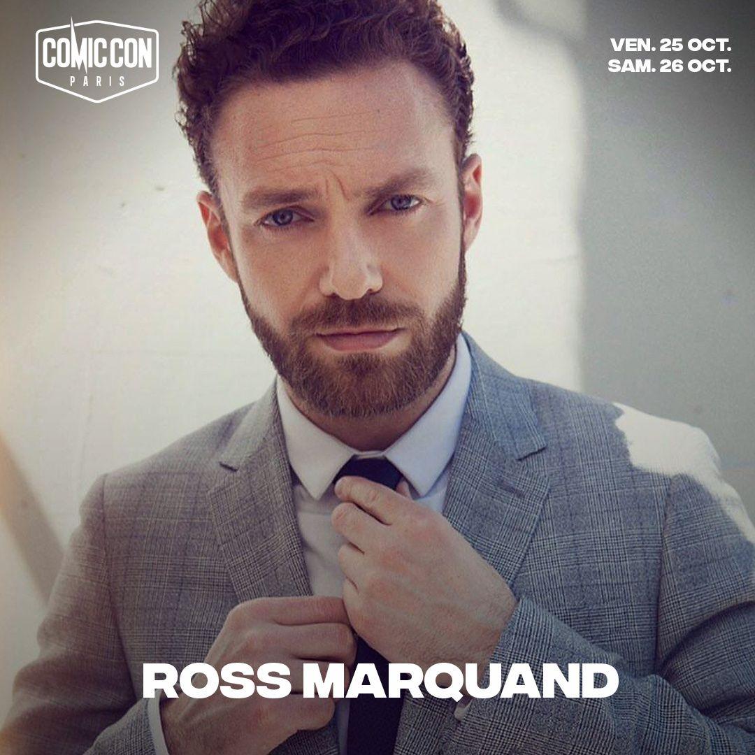 Ross Marquand, un des comédiens de The Walking Dead, présent au Comic Con Paris.