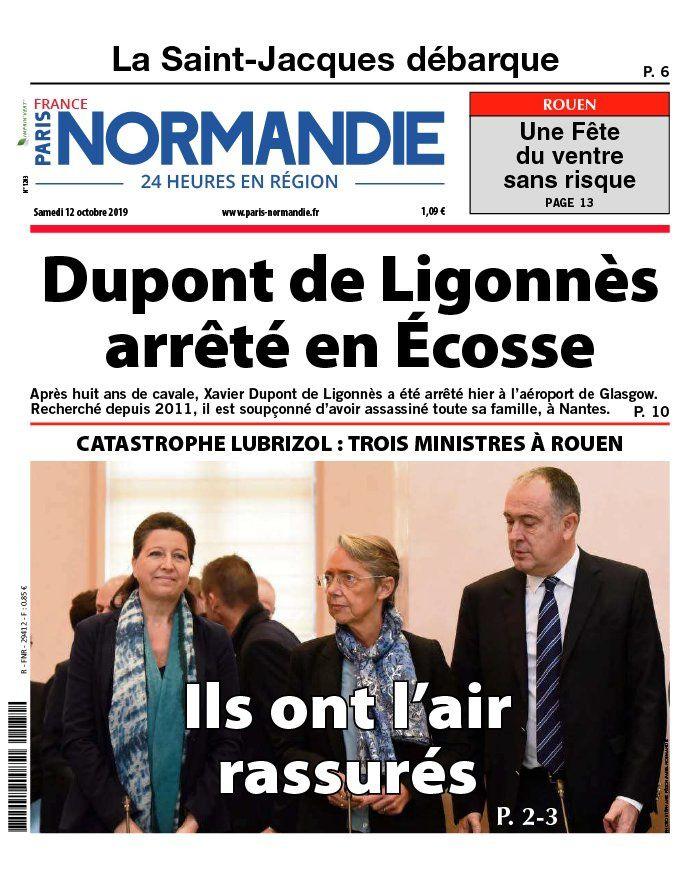 La UNE des quotidiens qui ont fait leur gros titre sur Dupont de Ligonnès ce samedi.