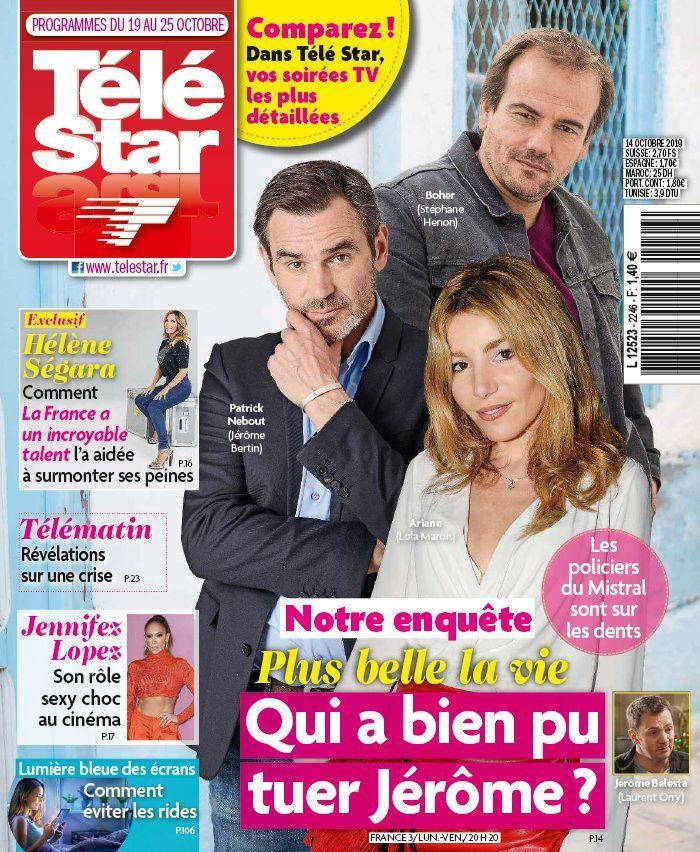 La UNE des revues TV ce lundi : Corinne Masiero, Plus belle la vie, Karine Ferri…