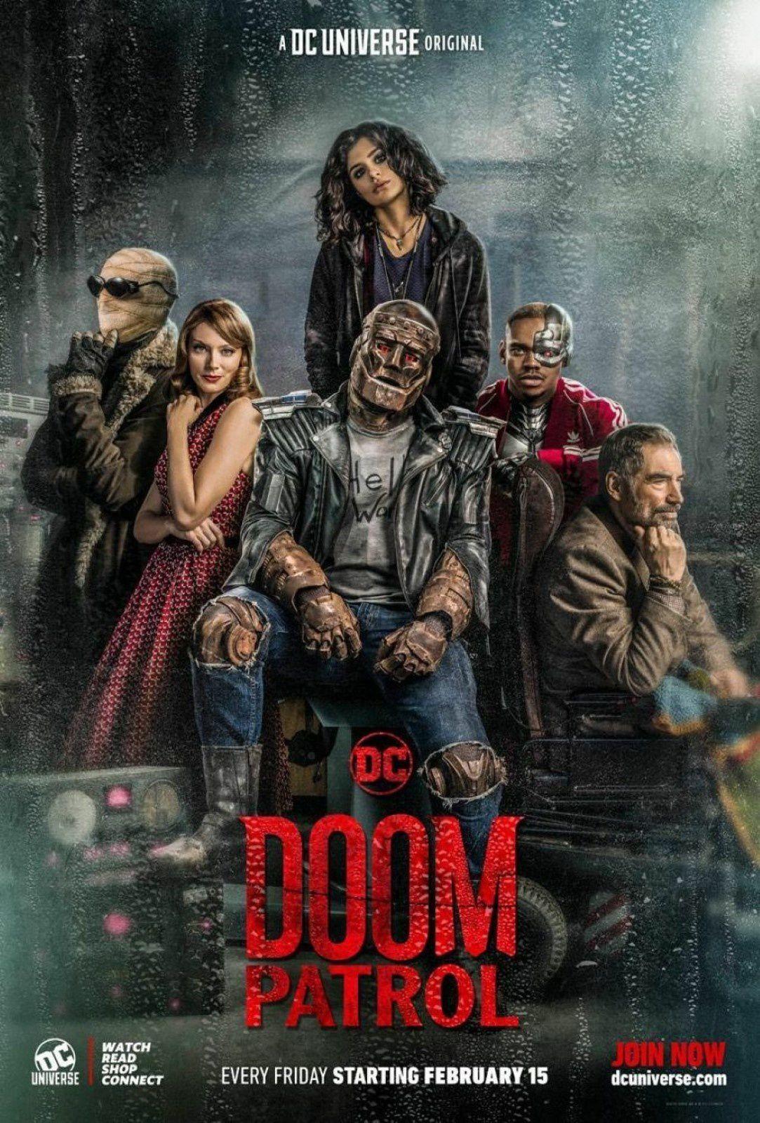 La série inédite Doom Patrol dès ce mardi soir sur SYFY.