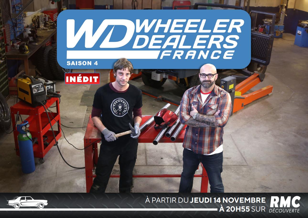 Saison 4 de Wheeler Dealers France dès ce jeudi sur RMC Découverte.