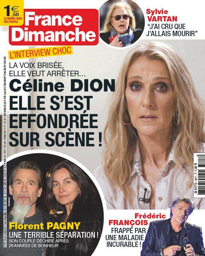 La UNE des hebdos people ce vendredi : Marc Lavoine, Céline Dion, Meghan Markle...