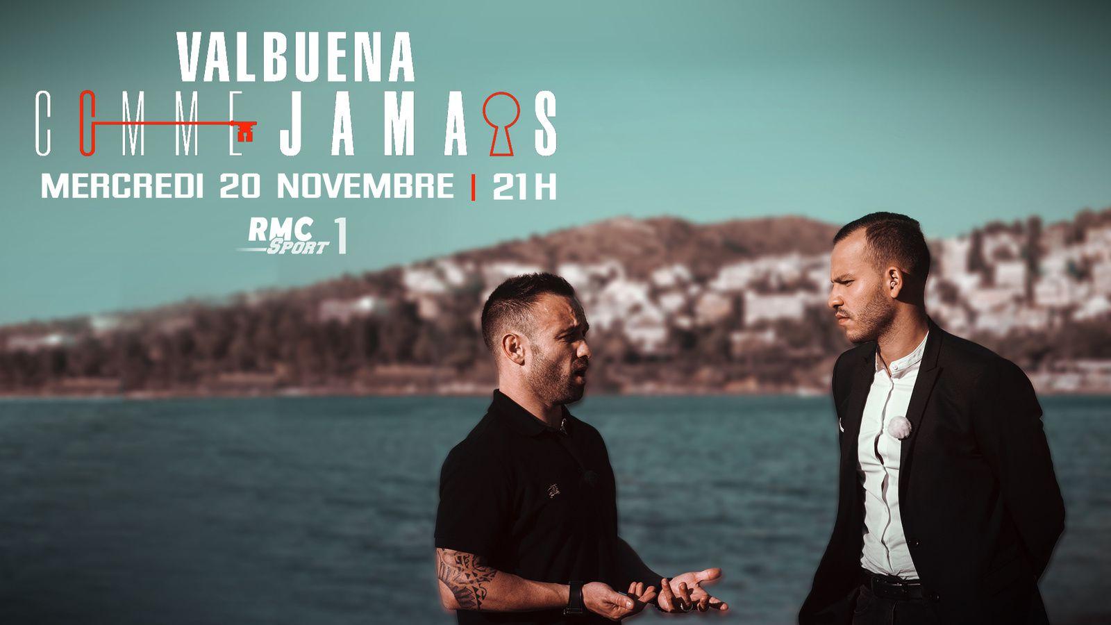 Mathieu Valbuena  «Comme Jamais», le 20 novembre sur RMC Sport.