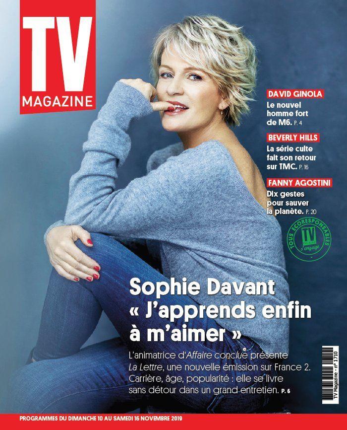 La UNE des hebdos TV ce lundi : Laurence Boccolini, Camille Lou, Audrey Fleurot…