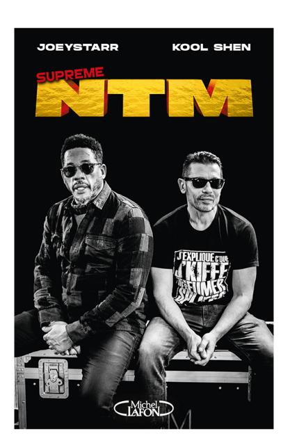 Parution du livre Suprême NTM, par Joey Starr et Kool Shen, et diffusion d'un concert en direct.