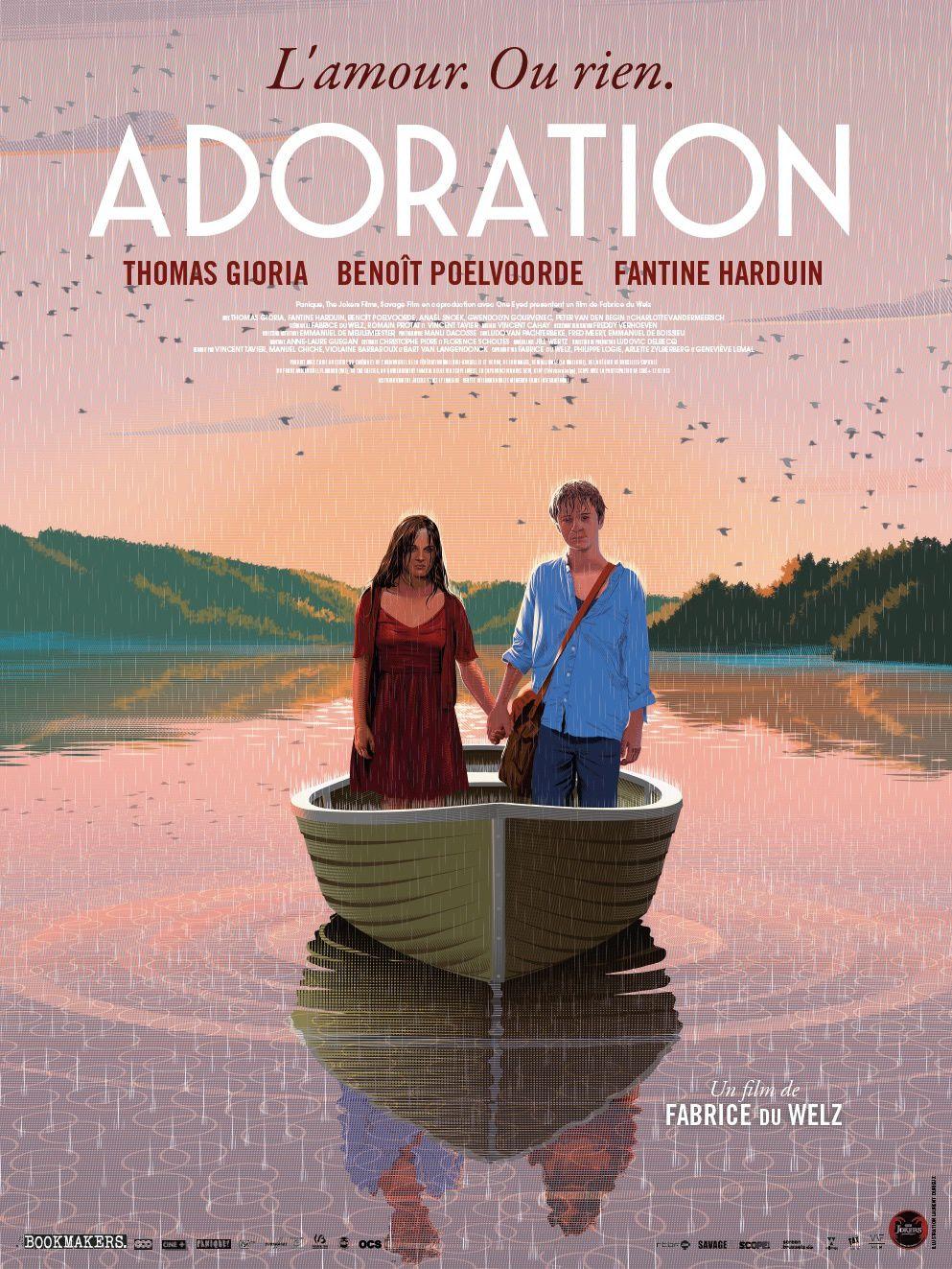 Bande-annonce d'Adoration, film avec Thomas Gioria, Fantine Harduin et Benoît Poelvoorde.