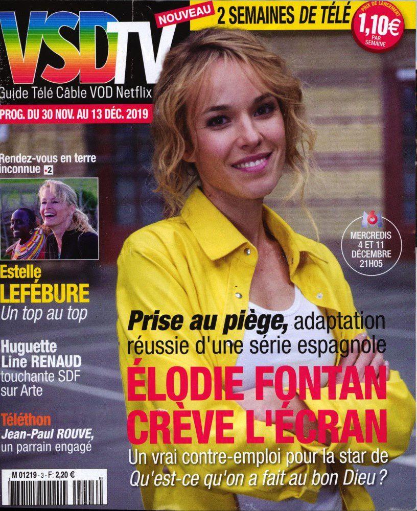 La une de la presse TV ce lundi : Fabienne Carat, Camille Lou, Élodie Fontan…