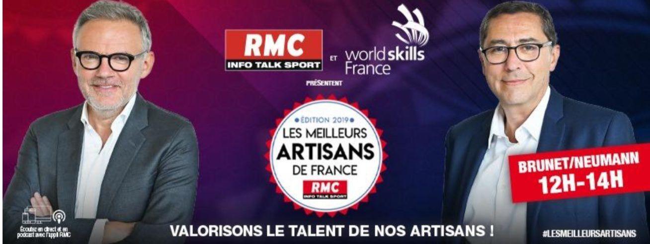 RMC et Worldskills proposent la 2ème édition du concours national des « Meilleurs Artisans de France ».