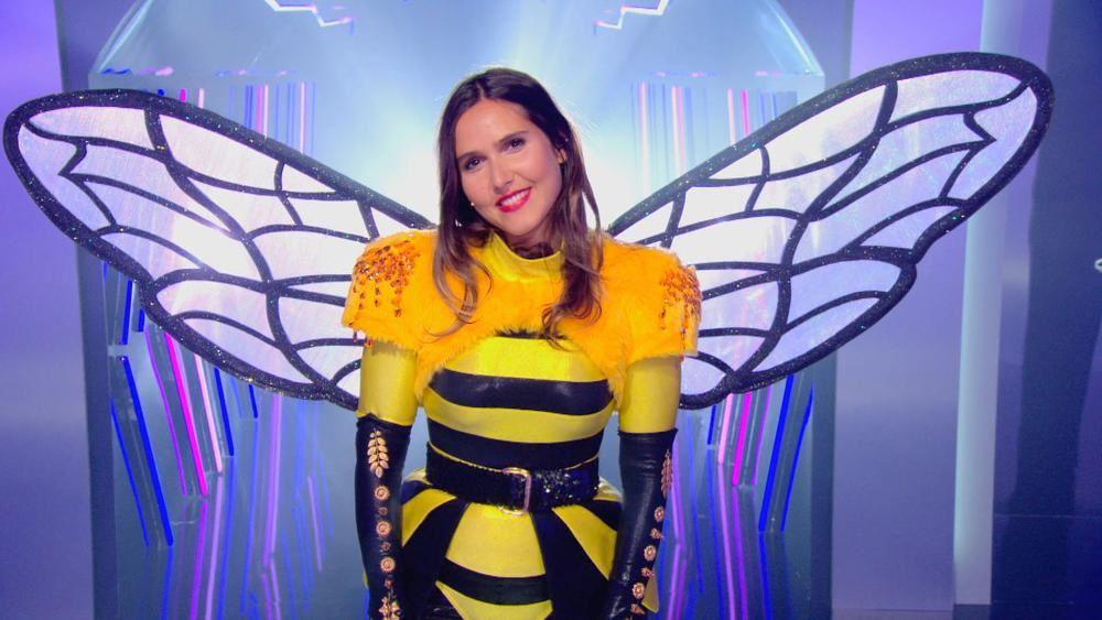 Mask Singer sur TF1 : les 4 derniers concurrents ont dévoilé leur identité (licorne, aigle, panda, paon).